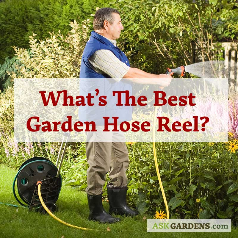 What is the Best Garden Hose Reel, Cart or Holder?